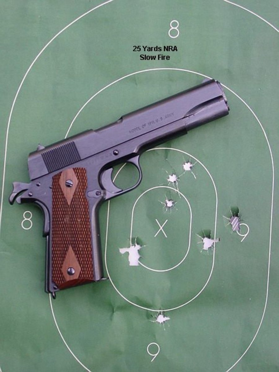The Basic 1911 Is Accurate Enough For Its Mission