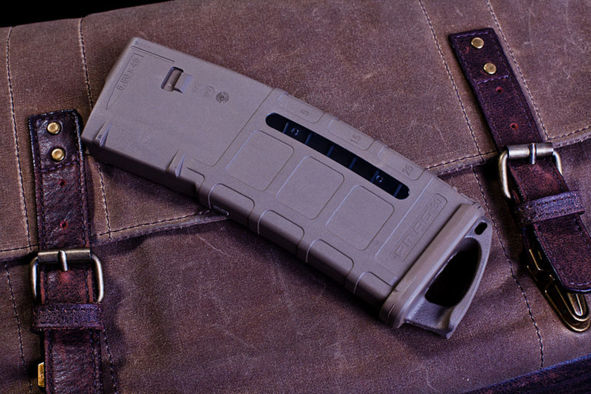 After-market polymer magazines have revolutionized the AR.  They are made in both low and high capacity versions.