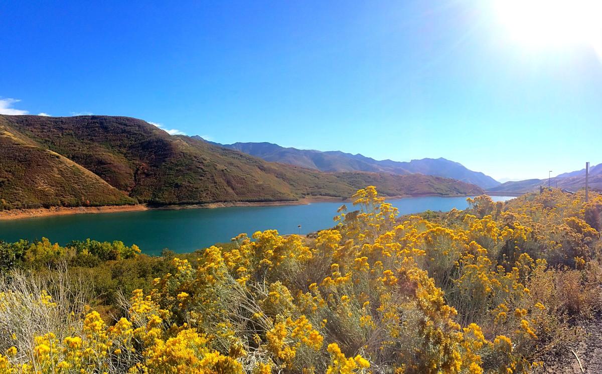 Little Dell Reservoir, Emigration Canyon