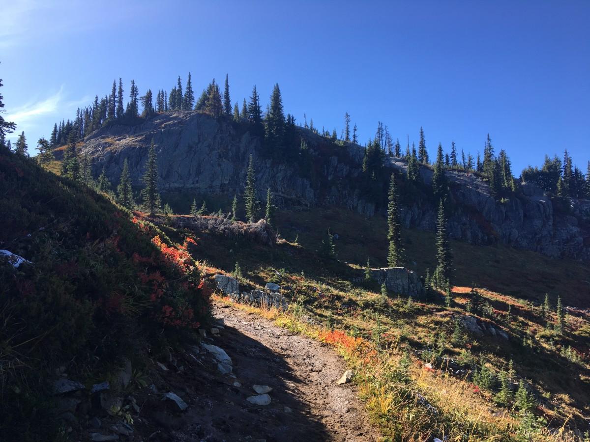 This hike has beautiful views around every corner.