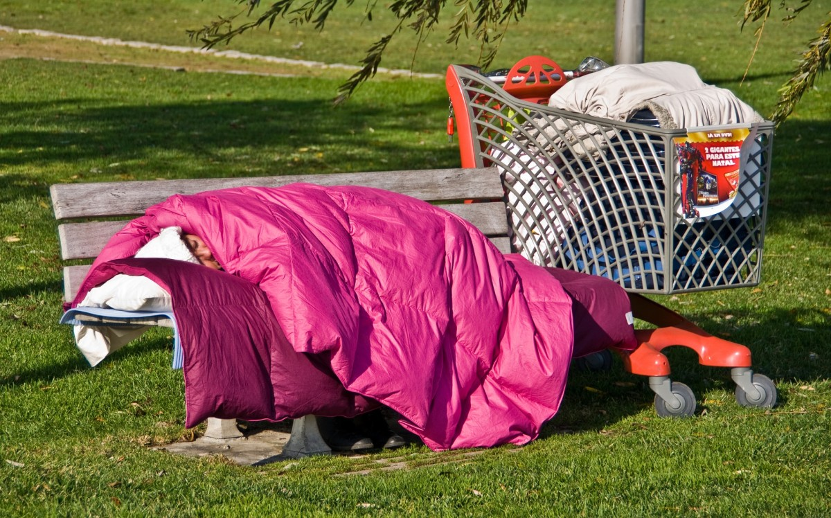The homeless population in the United States will increase if Trump wins another term in 2020.