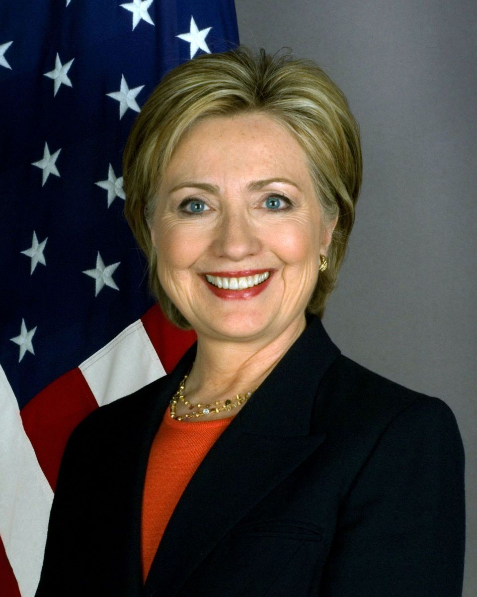 Hillary Rodham Clinton served as First Lady of the United States from 1993 through 2001. She served as Secretary of State from 2009 through 2013.