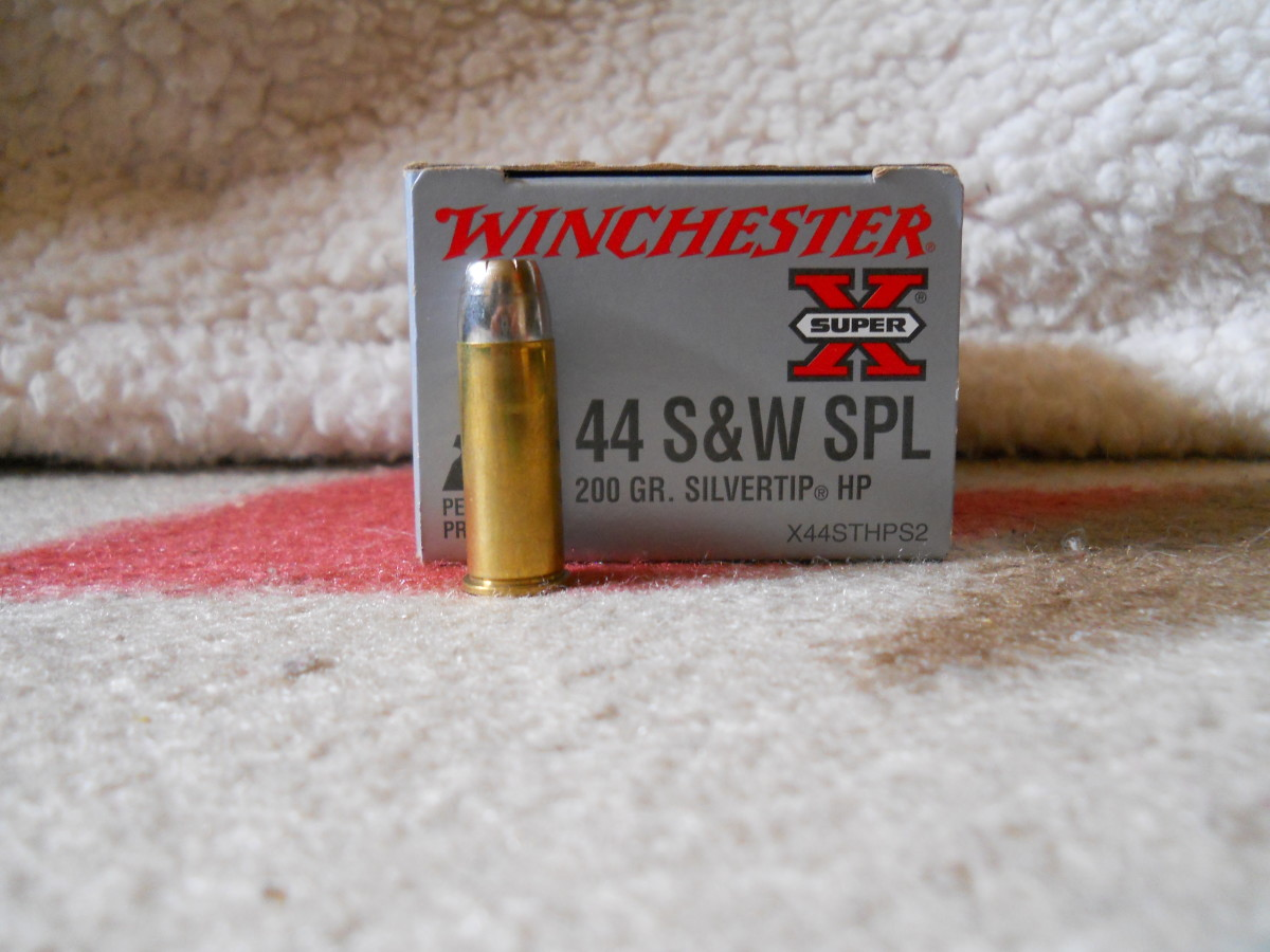 Modern hollow point .44 Special loads, such as Winchester's 200 grain Silvertip, are an excellent self-defense alternative to full power .44 Magnum loads.  They offer greater recoil control and are proven fight stoppers.