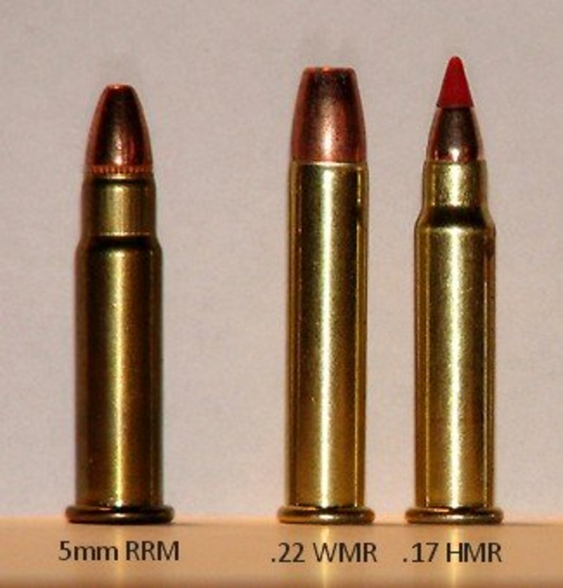 .17 HMR (far right)