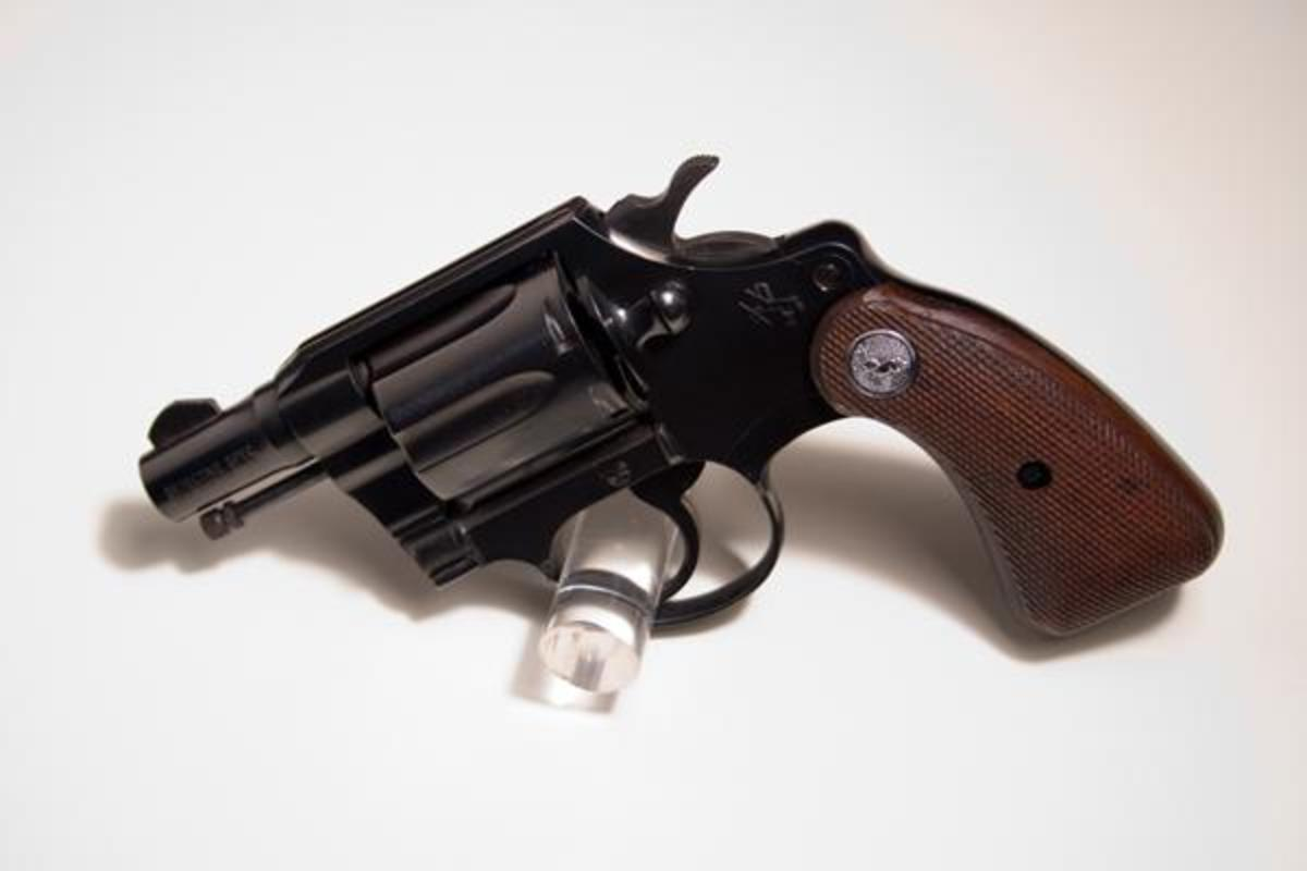 Classic Colt Detective Special snubbie is a great backup revolver.
