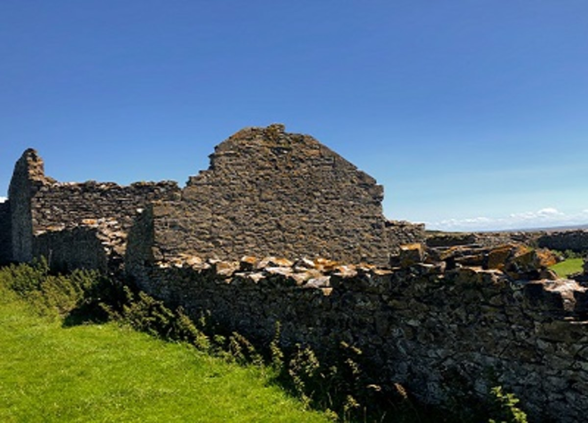 Sheeplay ruins.