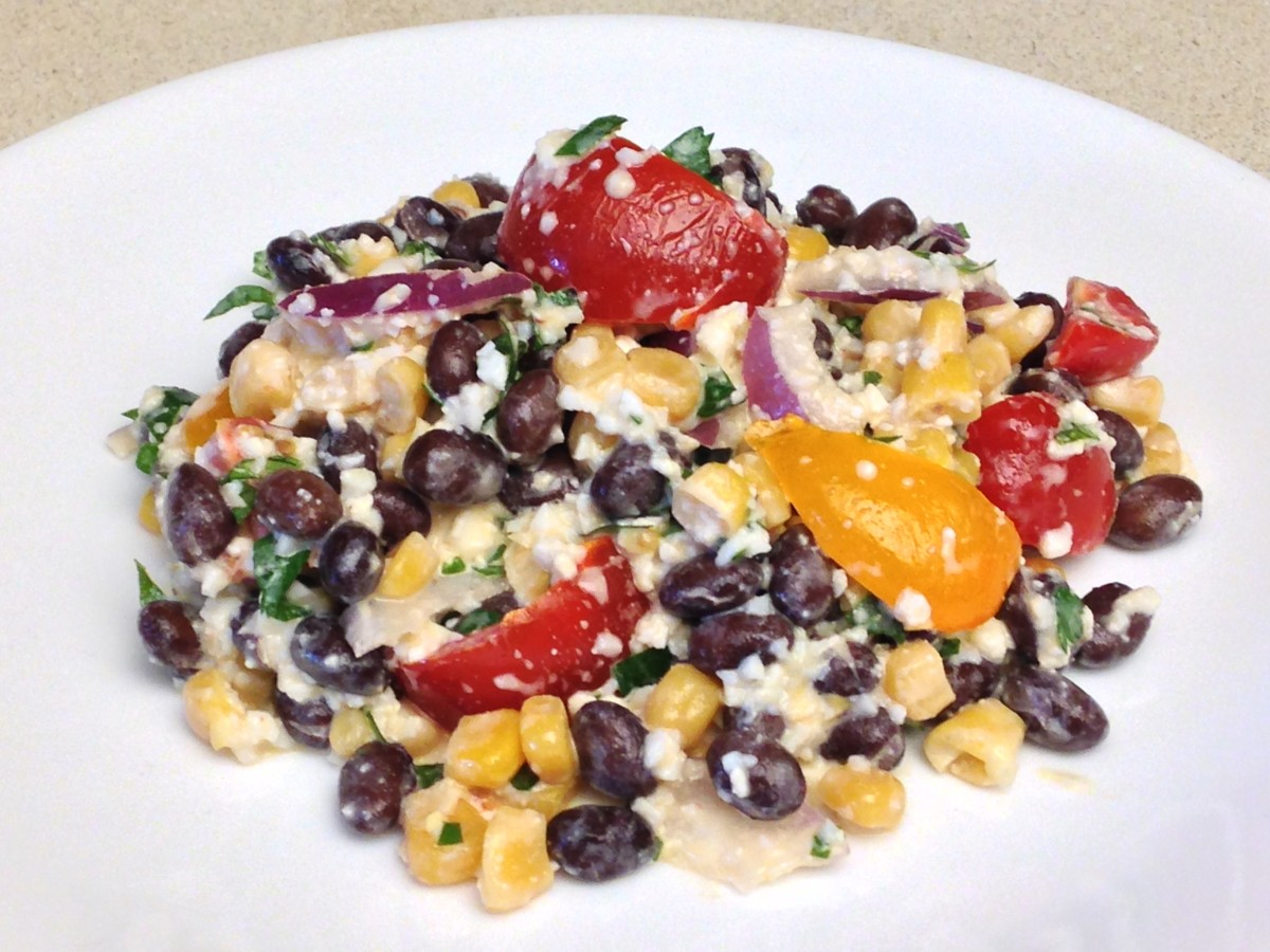 Weight Watchers SW Black Bean & Corn Salad