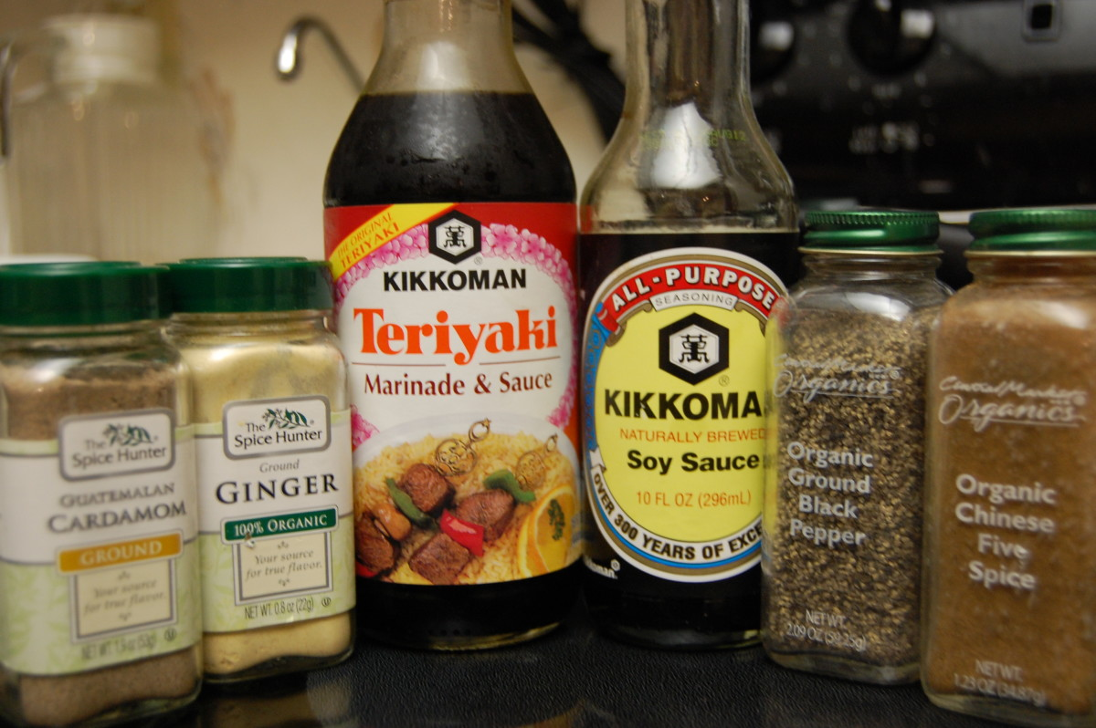 Spices for stir-fry