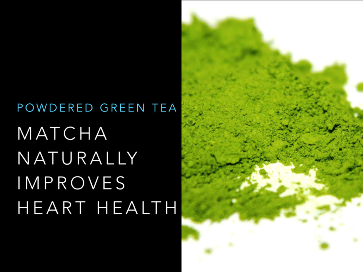Matcha and green tea are proven to improve heart health and promote longevity.