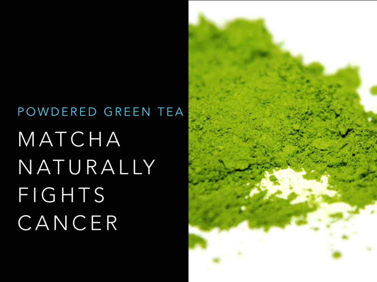 Drinking matcha is a great way to naturally combat the production of cancer cells.