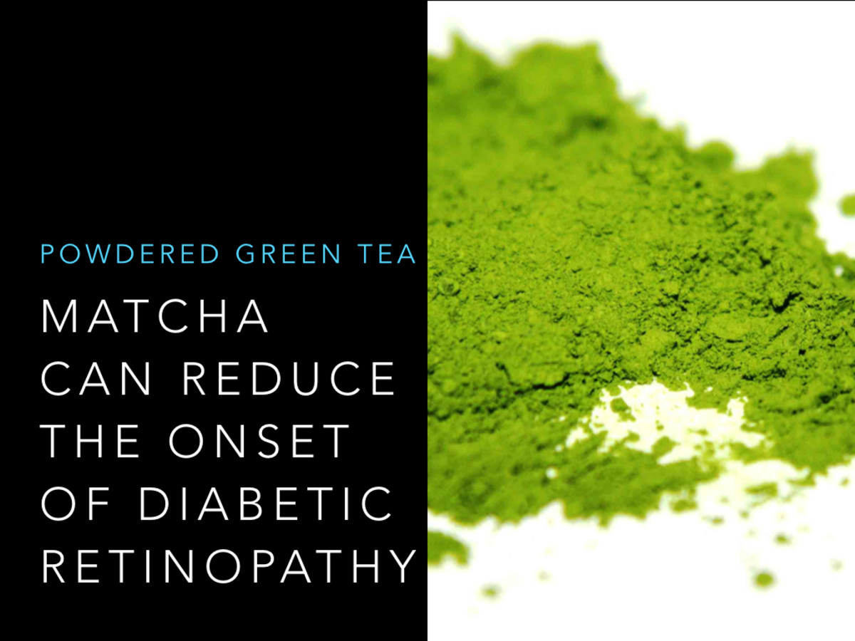 Diabetes and Vision: Drinking matcha has been proven to naturally improve ocular health and lower the risk of diabetic retinopathy.