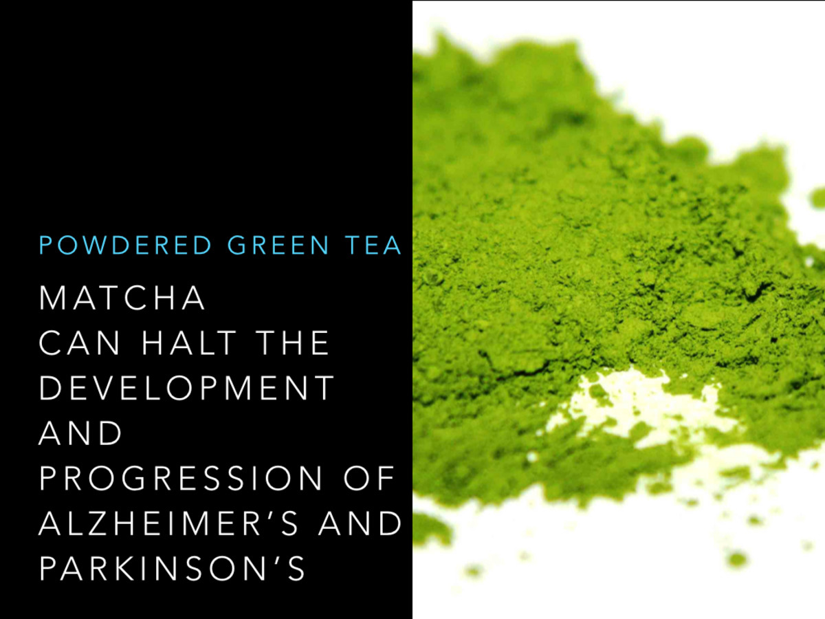 Drinking matcha and green tea now may greatly reduce your chances of getting Alzheimer's and Parkinson's disease in your senior years.