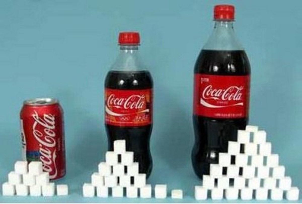 20 oz. Coke Classic = 65 g sugar
