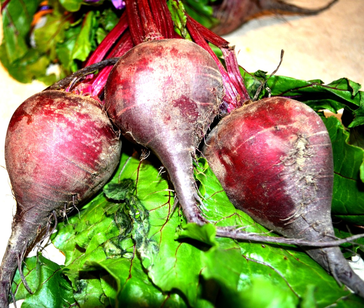 Eat one medium-sized beet every week for best results.