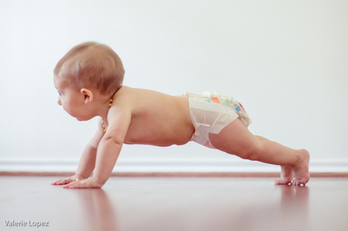 Babies can do the Plank Pose before they can walk. Can You?