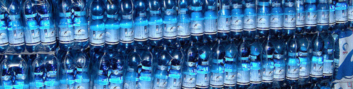 Bottled mineral water in different countries may have different TDS