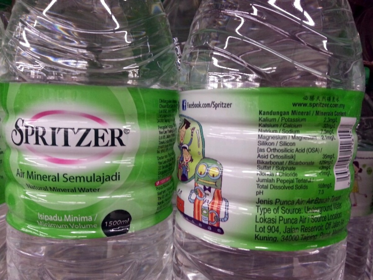 Spritzer is one of the mineral water brands identified to have high silicon content that helps reduce Alzheimer's memory loss,