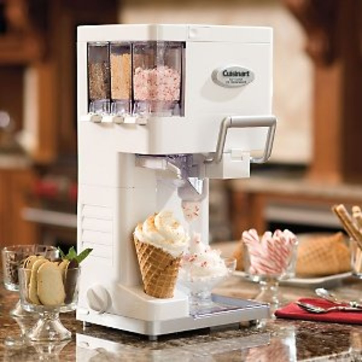 This is the model I personally own.  It's a Cuisinart Front Gate model.  Works great!