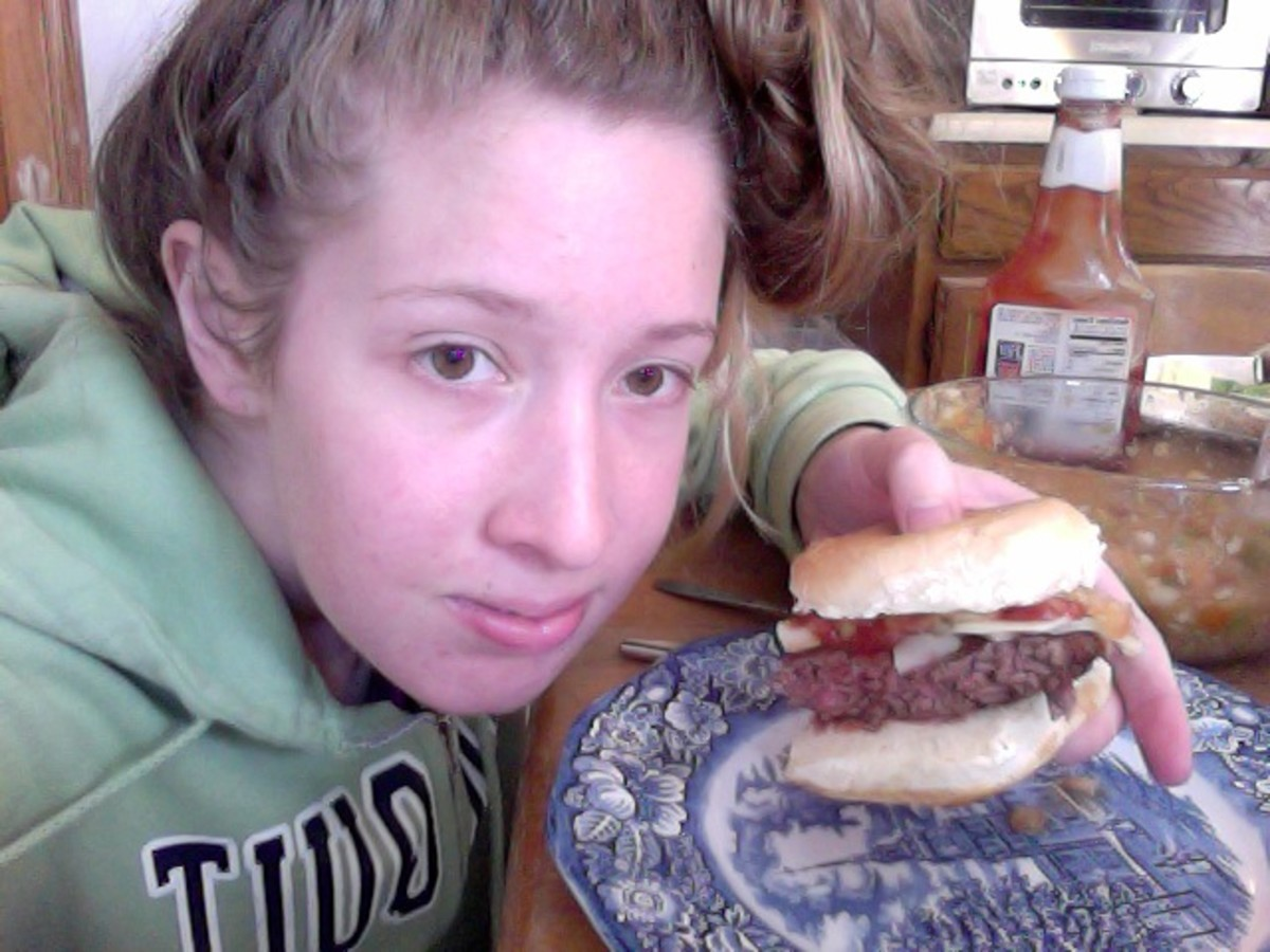 This is when I wanted to eat this burger, SO, so, badly, and was a little frustrated, but blended it tasted great, too!
