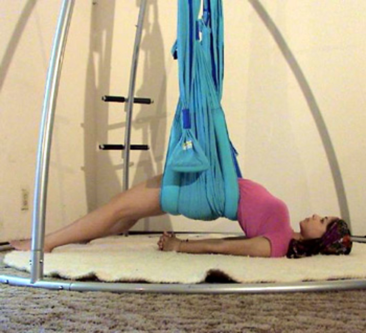 Yoga Sling - Passive stretching of the spine See below for availability.