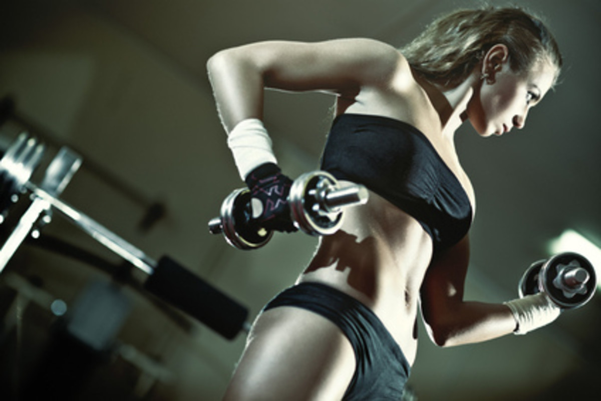 It's a myth that women get big and bulky with weight training.