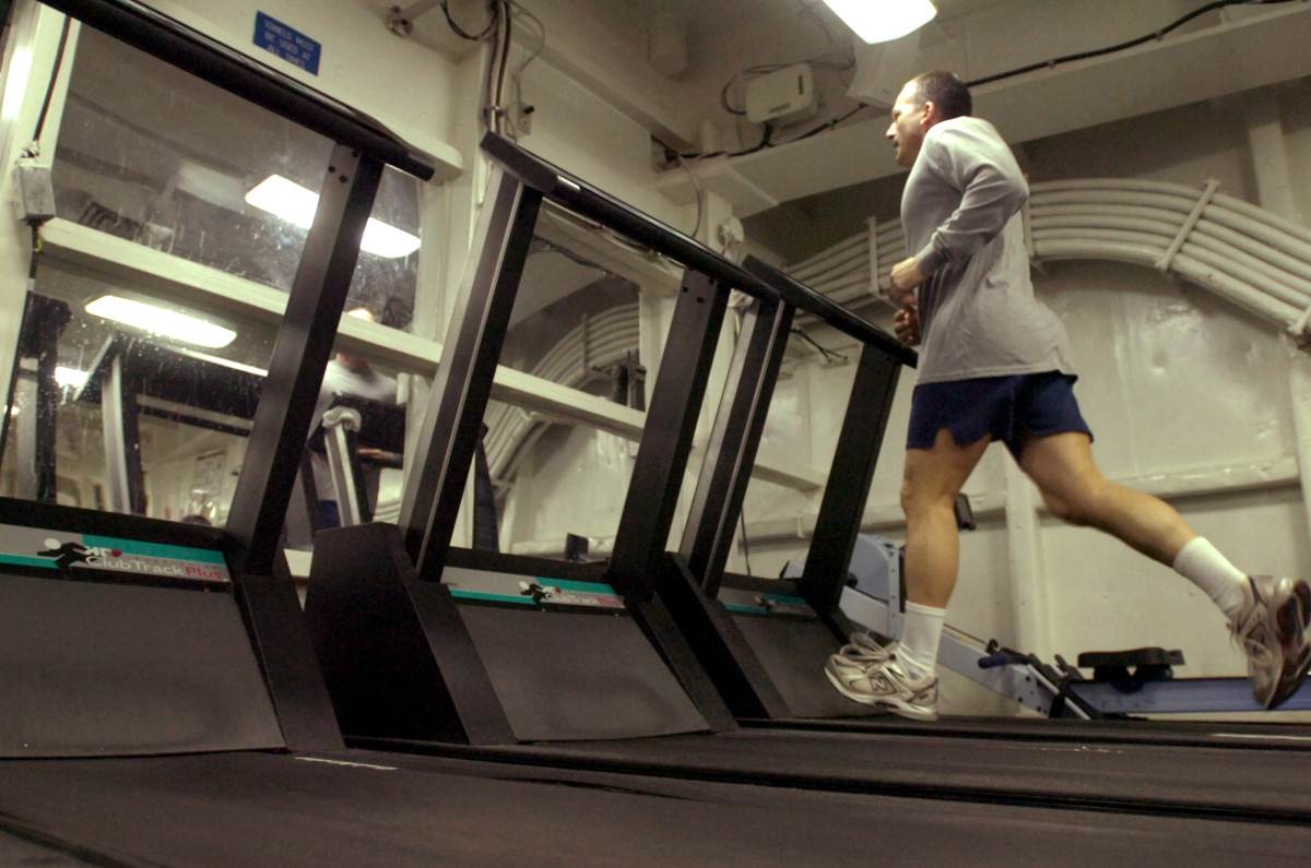 There is nothing wrong with hitting the treadmill.