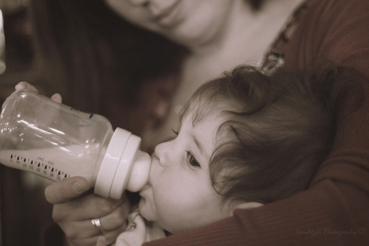 Soy has made its way even to baby formulas.