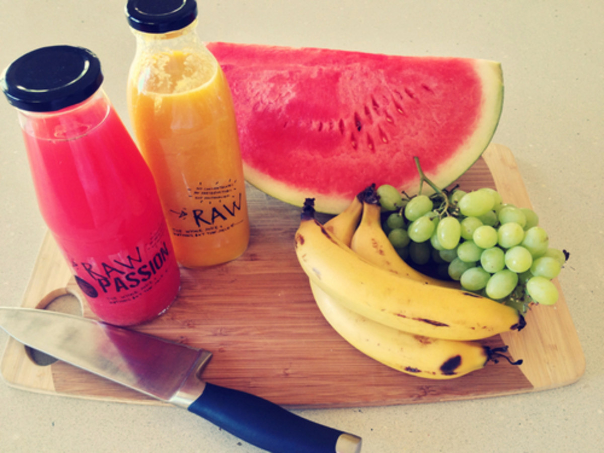 Eat plenty of fruits and vegetables.
