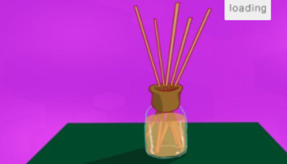 A diffuser will spread the scent of your essential oils throughout the room.