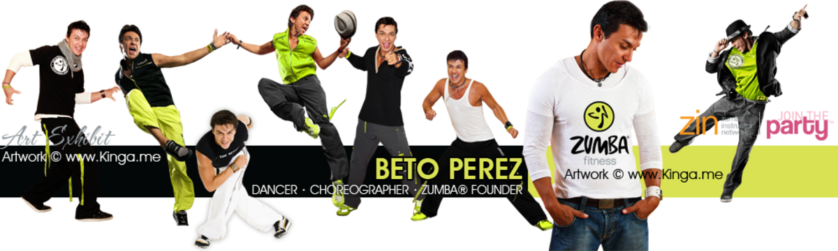 Zumba Founder Beto Perez