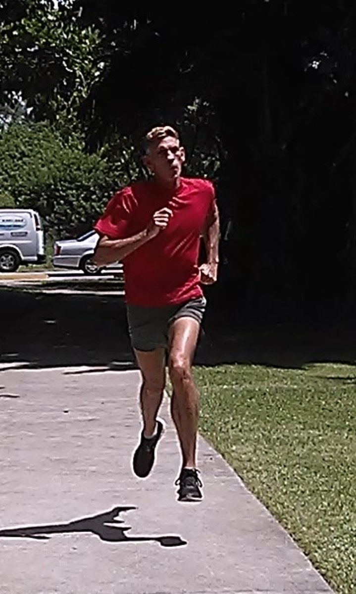 Wind Sprint: Adding variety with a speed drill during an endurance workout.