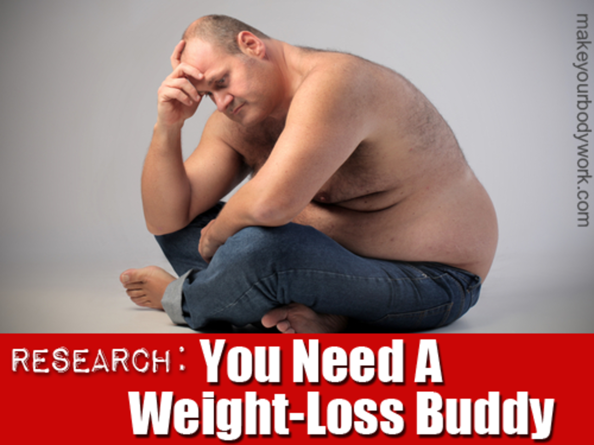 """""""Work with a coach or a weight-loss buddy..."""""""