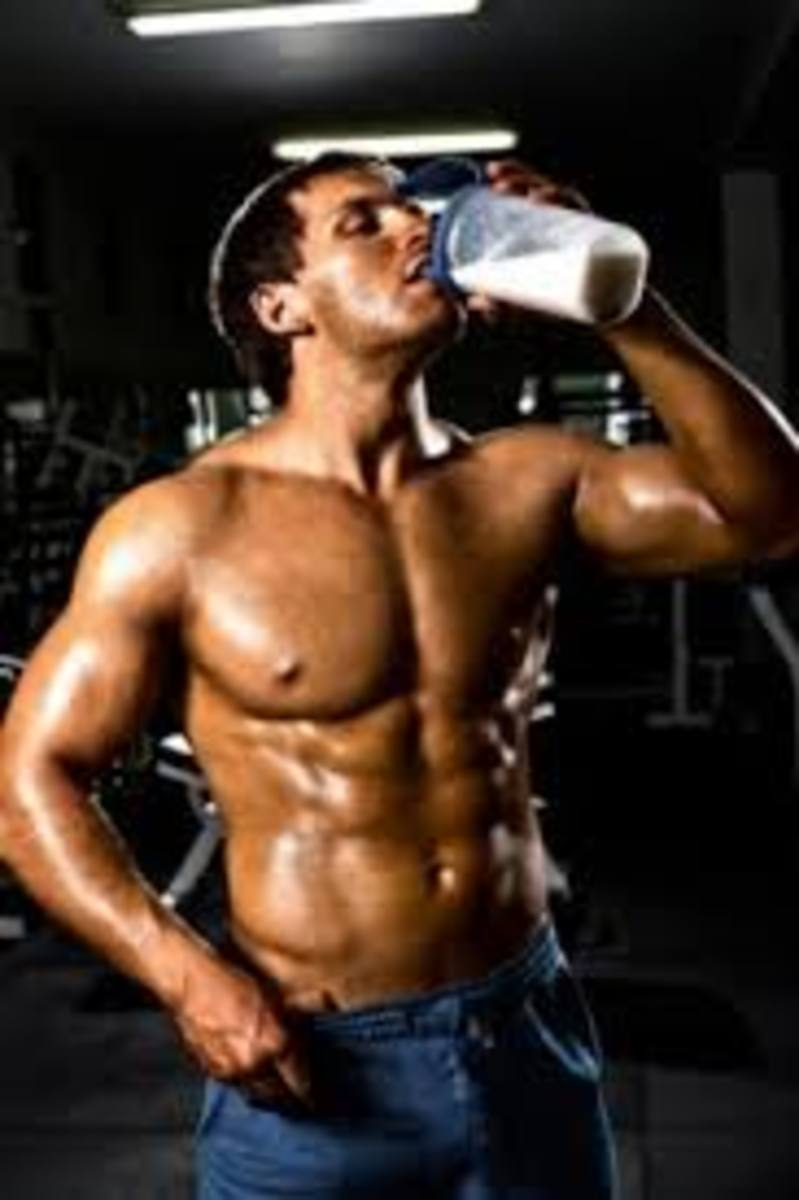 Whey makes a delicious protein drink.