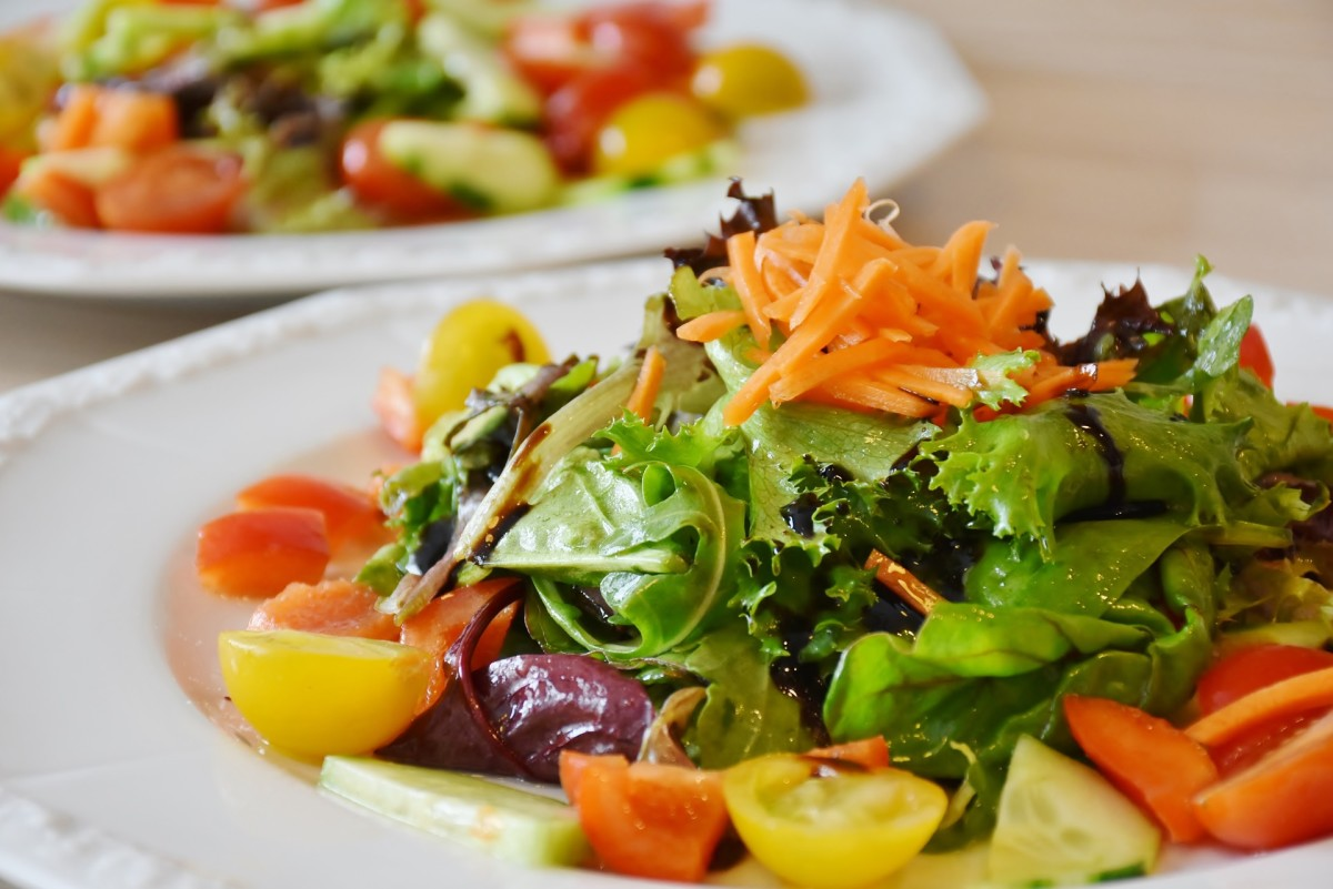 Going meatless for at least one meal a day can help boost your daily intake of fruits and vegetables.