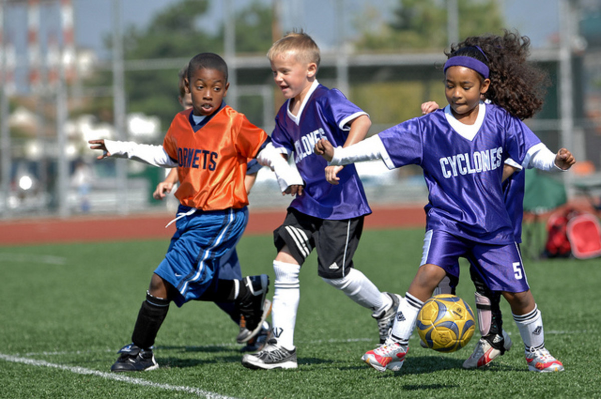 Team sports build good character, but kids should be emotionally and physically ready for them.