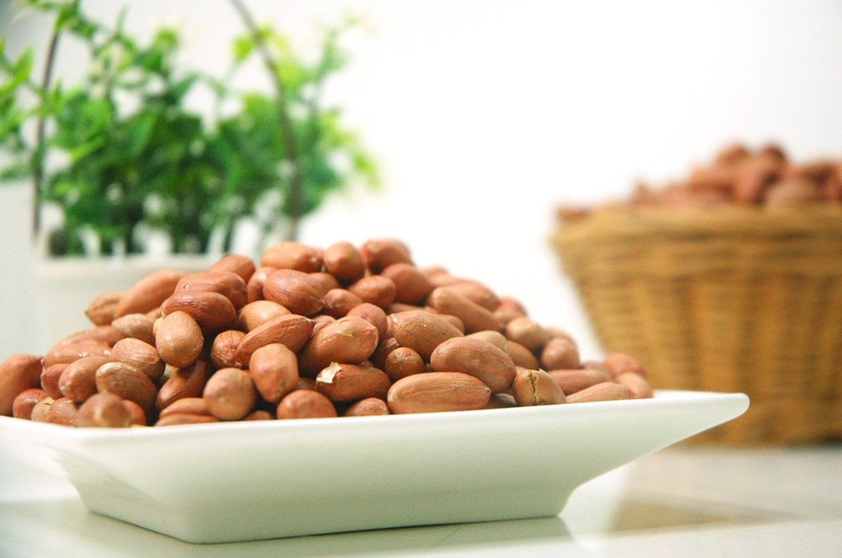 Peanuts are actually legumes--but they'll help you gain weight nonetheless.