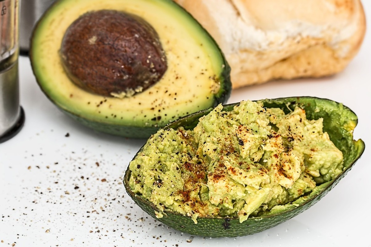 Nom, nom! Avocados can help you gain weight naturally.
