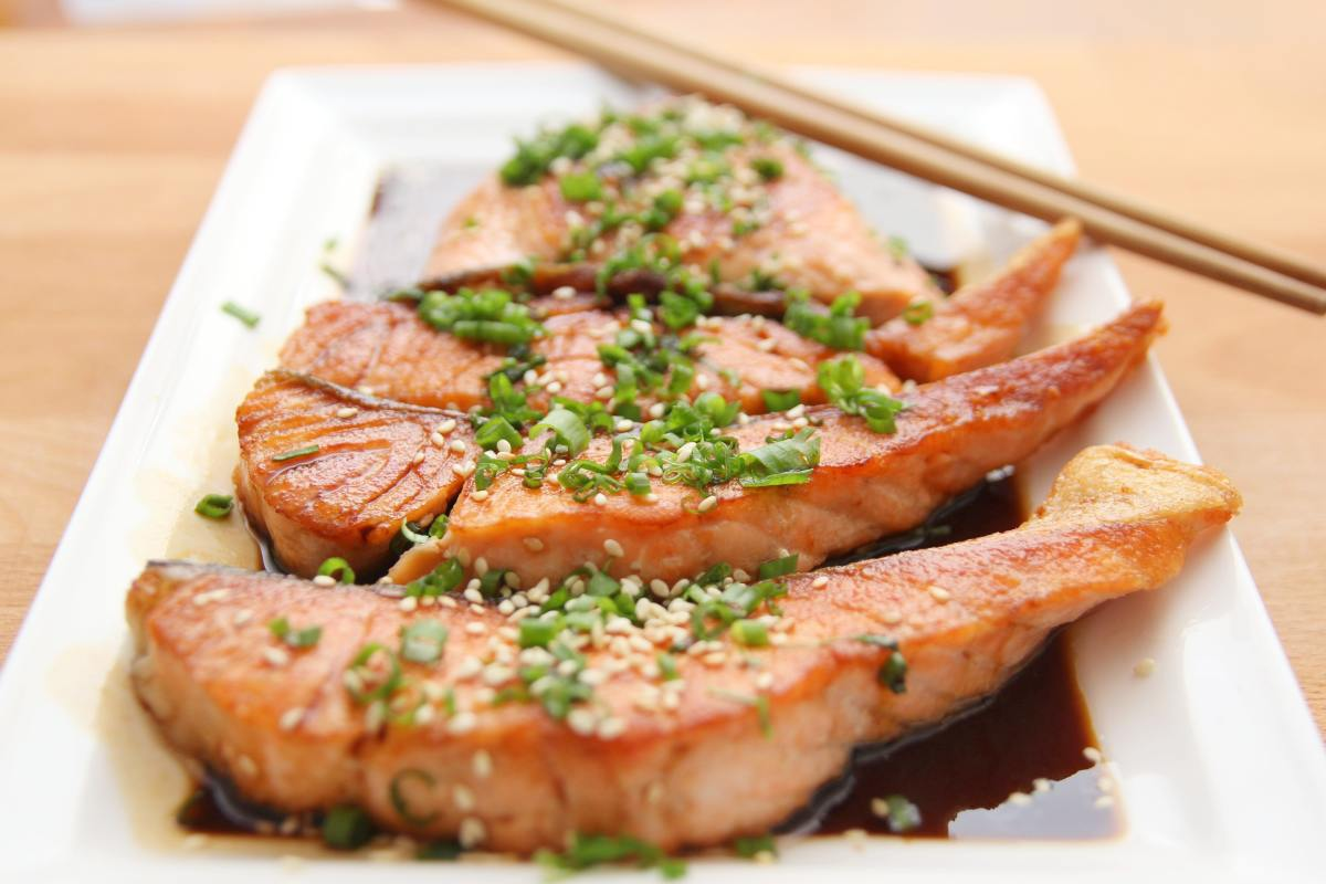 Fish has unsaturated fats good for the body