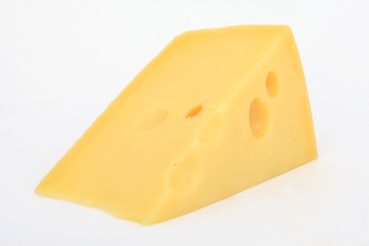 Swiss cheese is one of the most protein-dense cheeses you can buy.