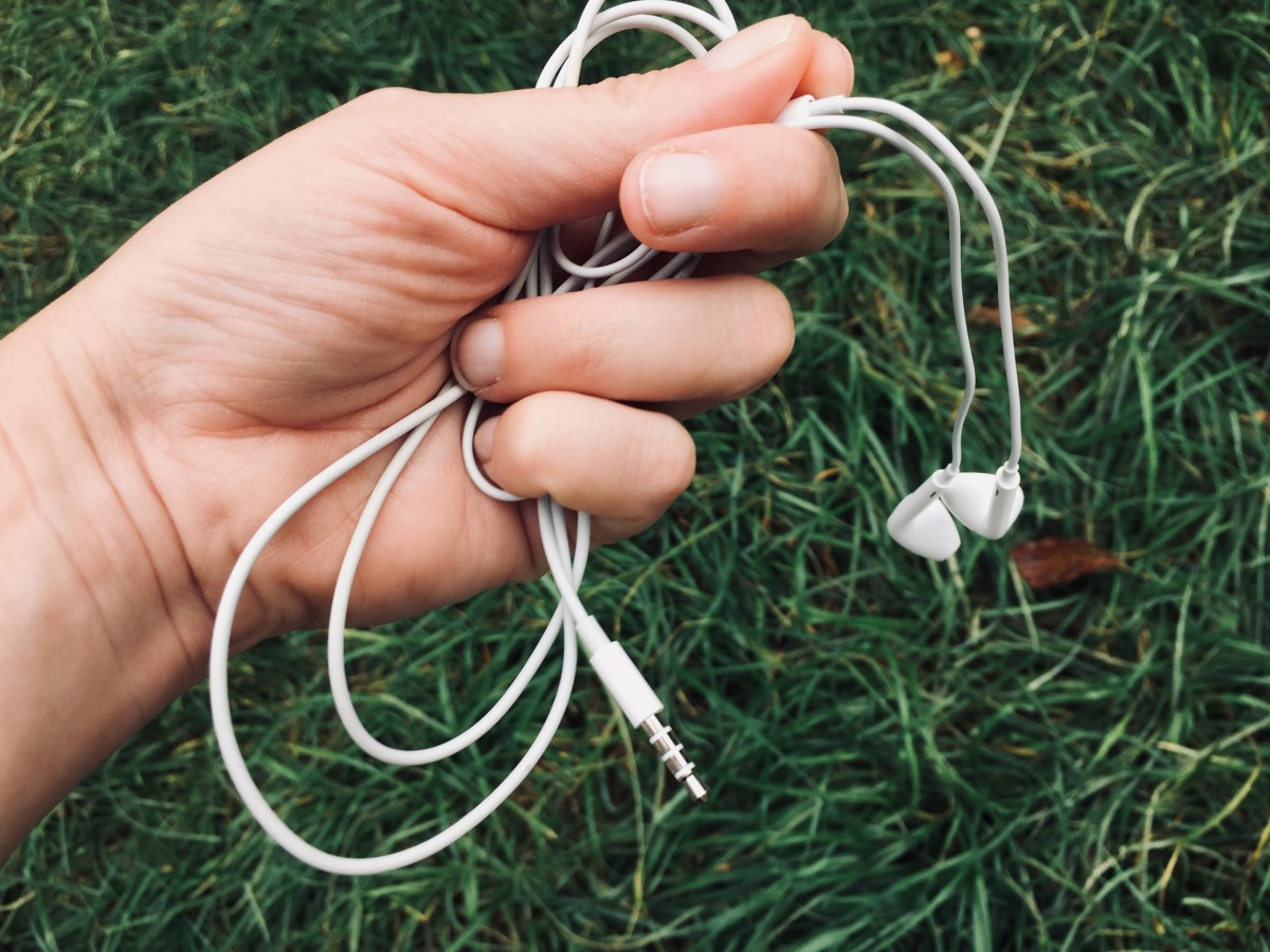 Don't forget your earbuds and some great music to listen to as you run