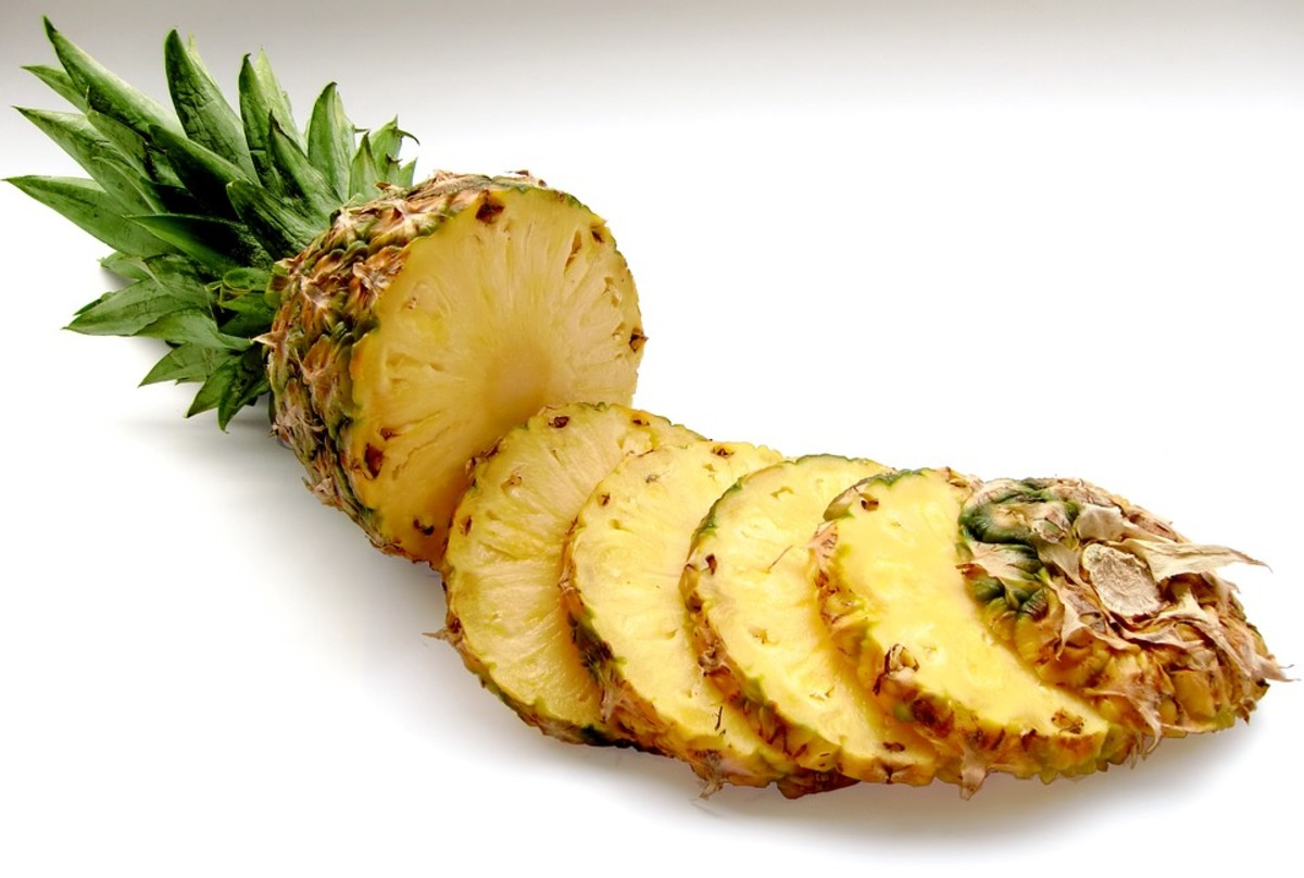 Pineapples can help you beat a common cold