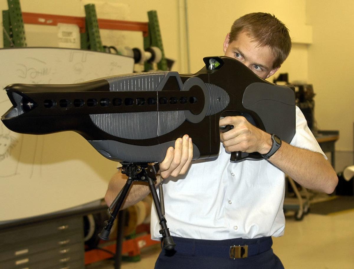PHASR rifle
