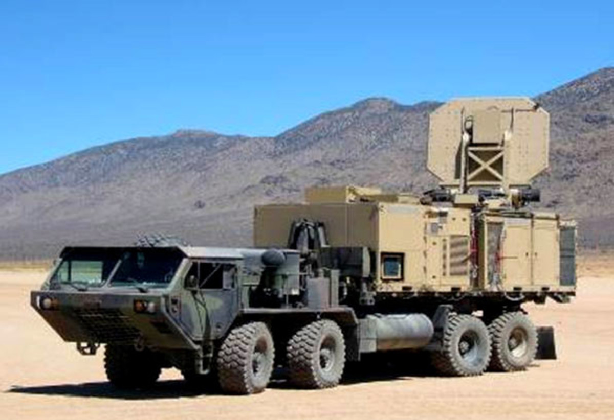 Heat gun, an active-denial system