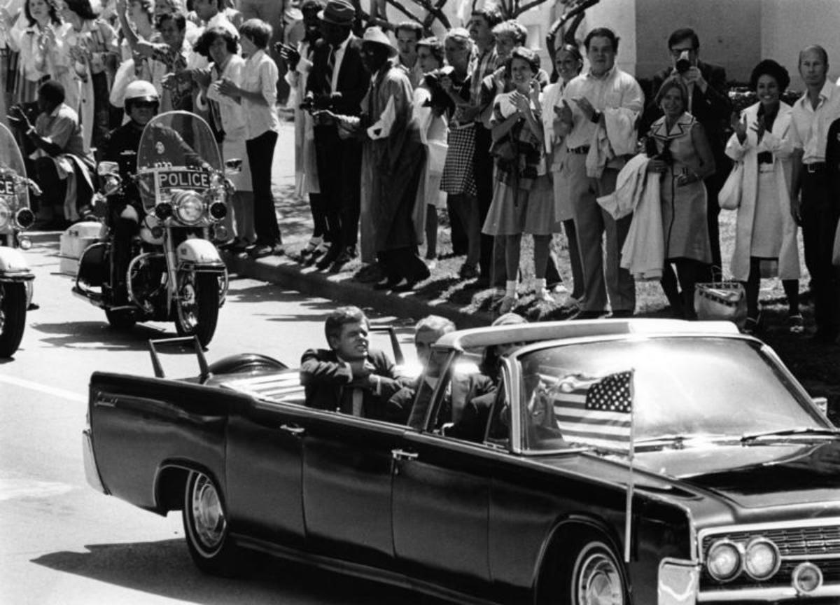 A Shot Has Just Been Fired At President Kennedy.