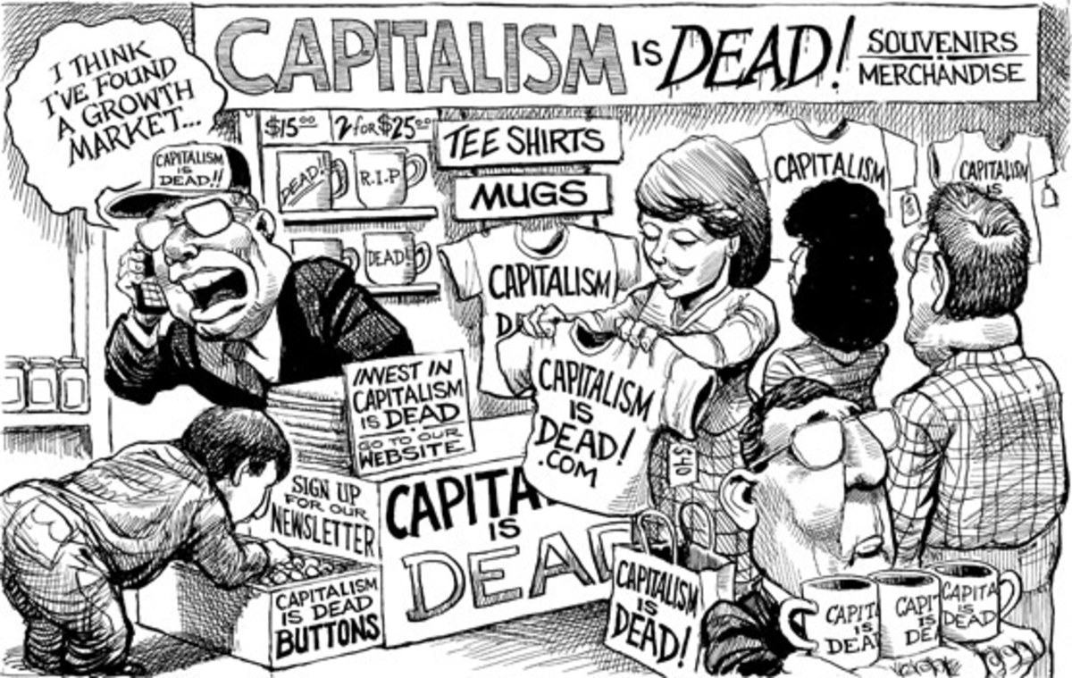 CAPITALISM IS DEAD