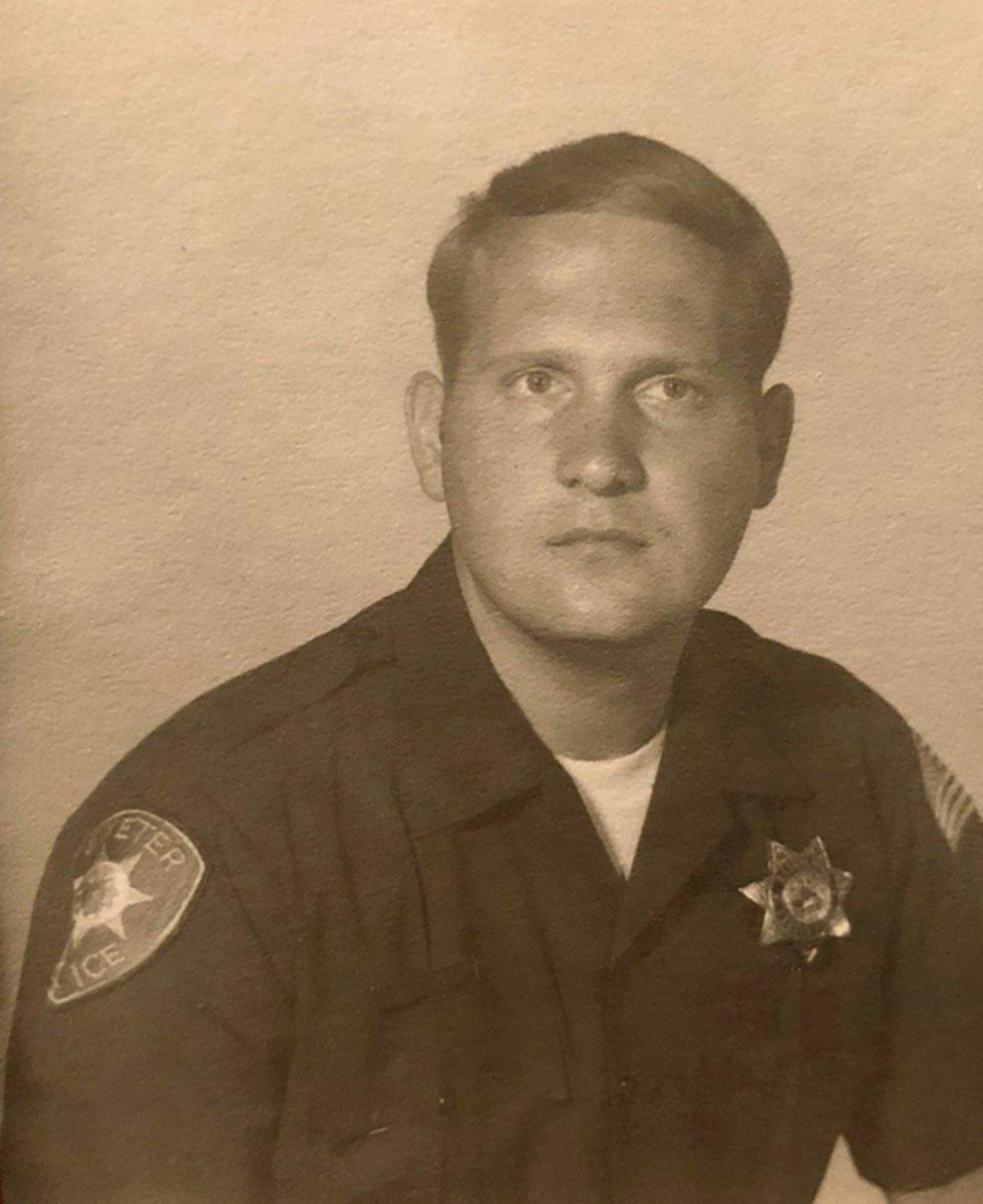 Photo of Joseph DeAngelo when he was a policeman in the early 1970s
