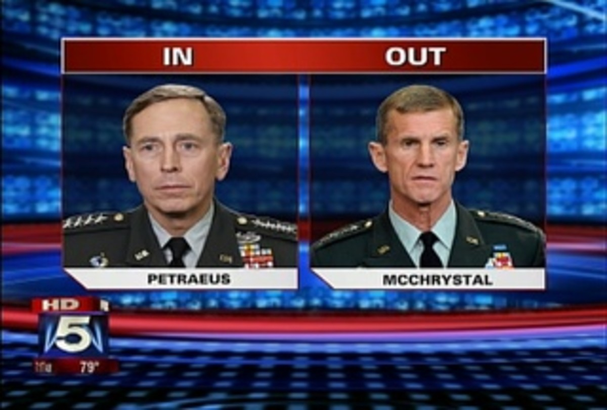 General Petraeus faces a number of challenges as he replaces General McChrystal.