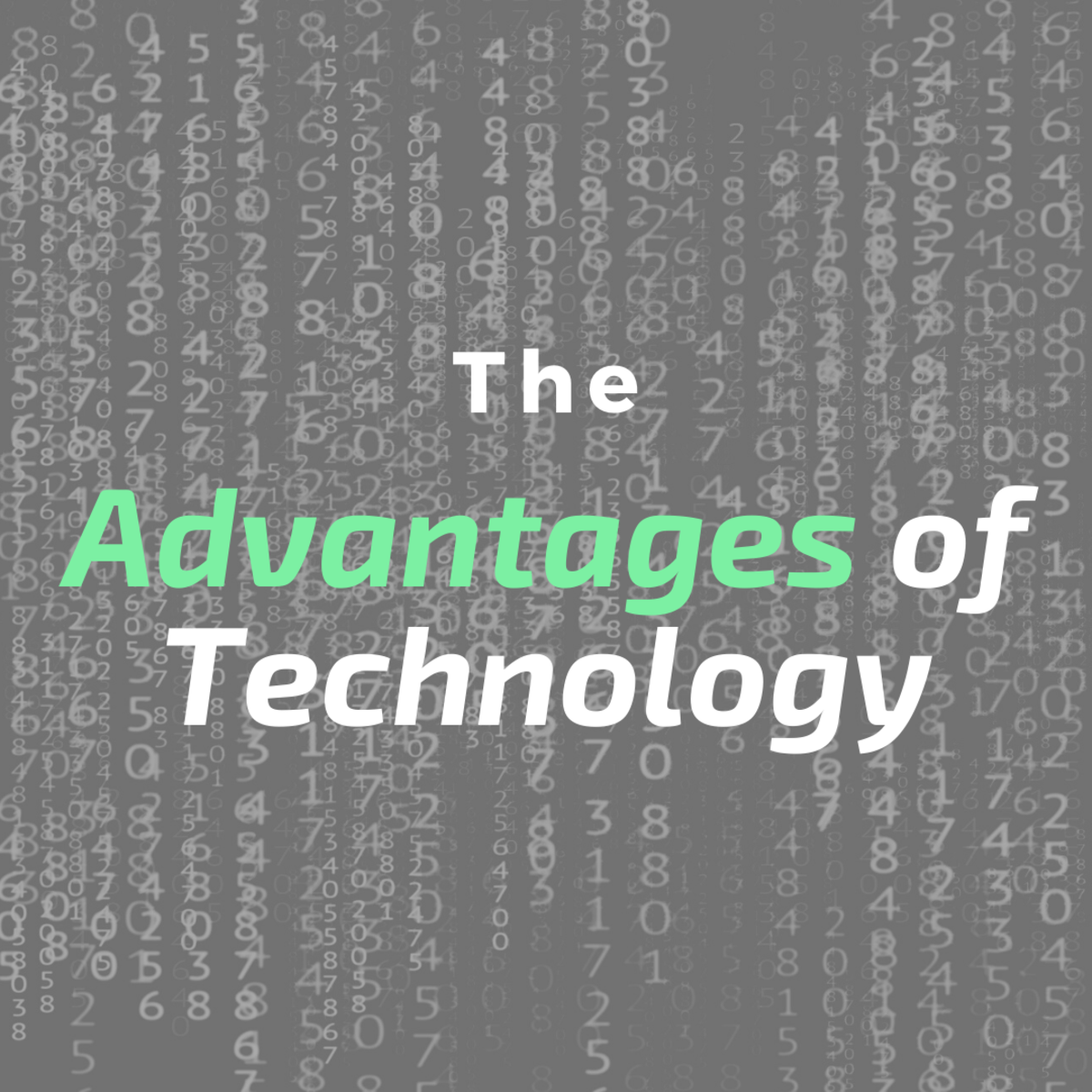 Here are several examples of how technology is improving the world.