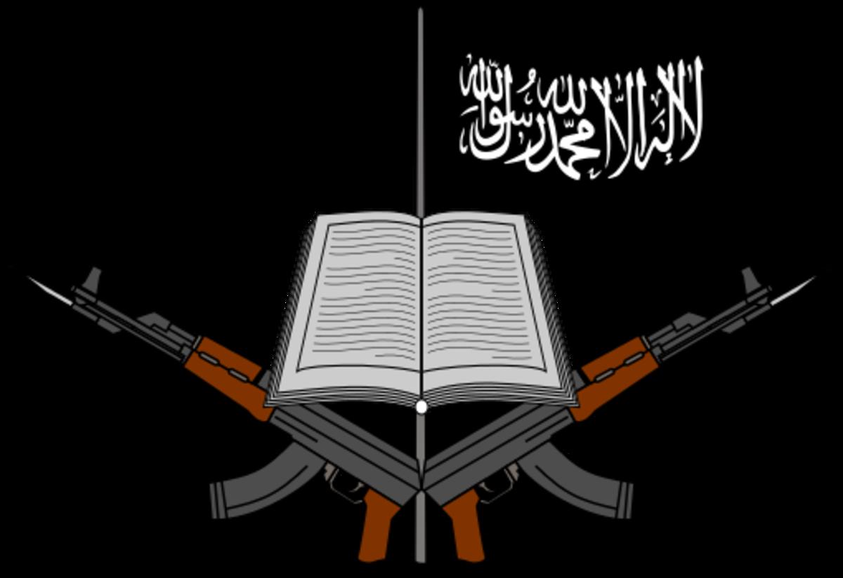 """Logo of Boko Haram"" by ArnoldPlaton - Own work. Licensed under Creative Commons Attribution-Share Alike 3.0."
