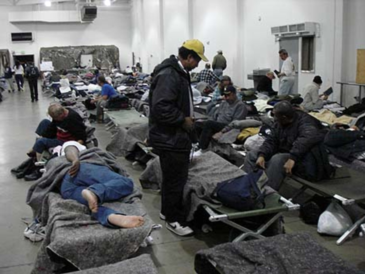 There is a level of danger to residents of normal homeless shelters.  The model I have presented above can be used to lower the danger to residents.